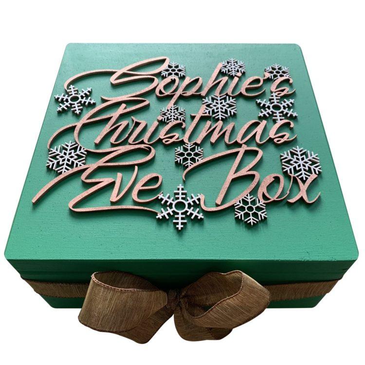 Jajo Cisco design christmas eve box JCCEB19 close