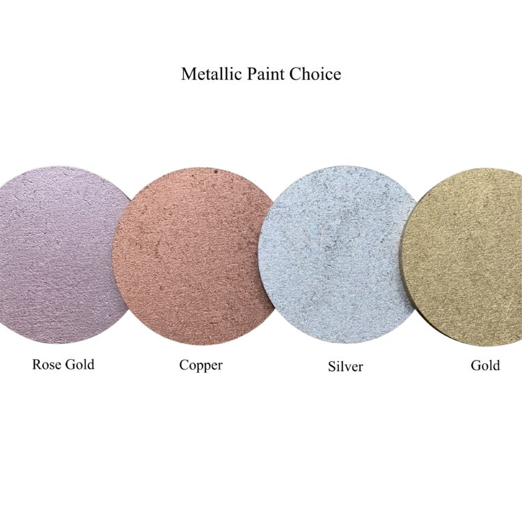 Jajo Metallic Paint Choices