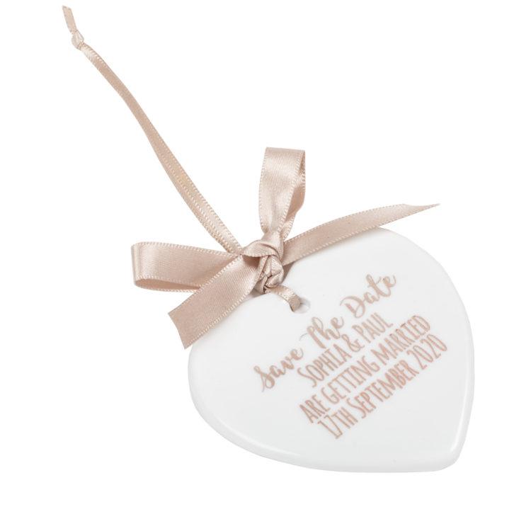 Jajo ceramic heart save the date JSSTD17 close