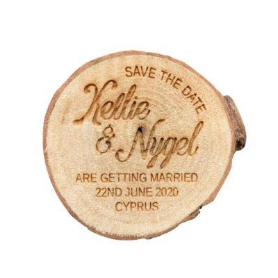 Jajo engraved save the date kellie design JSTDKD19