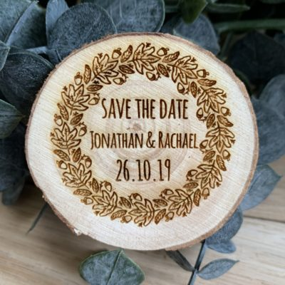 Jajo rustic save the date autumn slice JSTDAW18