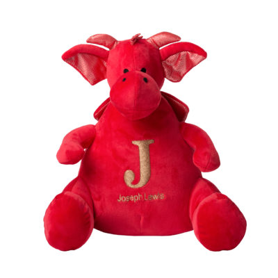 Jajo Dragon embroidered plush JEPDP19