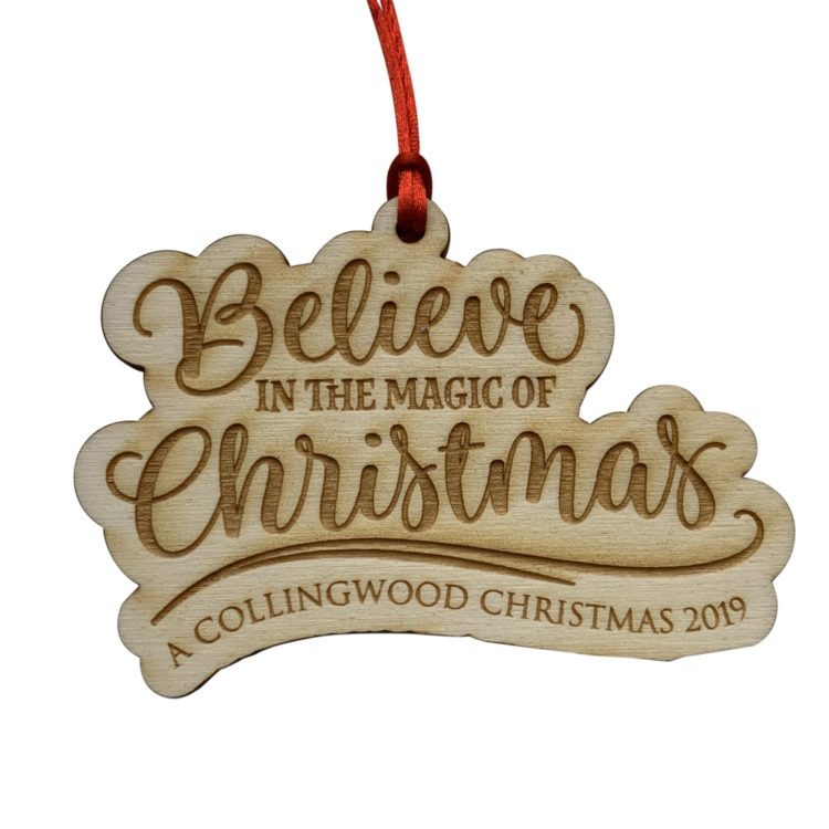 Jajo believe wood decoration JBITMWD19