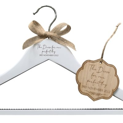 Jajo hanger and tag bridal set JHTBS19