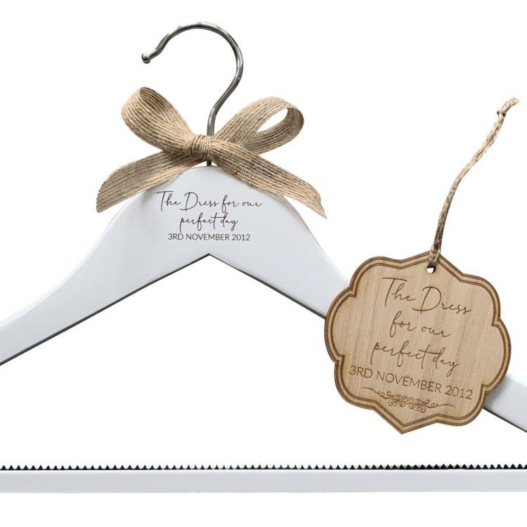 Jajo hanger and tag bridal set JHTBS19