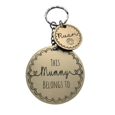 Jajo this mummy belongs to keyring JTMBK17