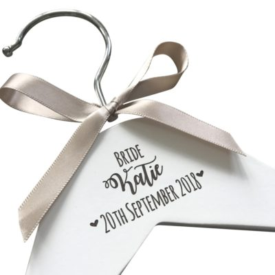 Jajo white original wedding hanger JEWH117