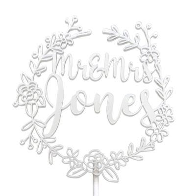 Jajo lace cake topper JSICT18