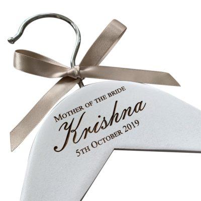 jajo engraved wedding hanger emb design JEWHE19