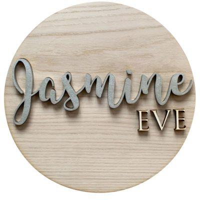 Jajo Circle Nursery sign JCNS20