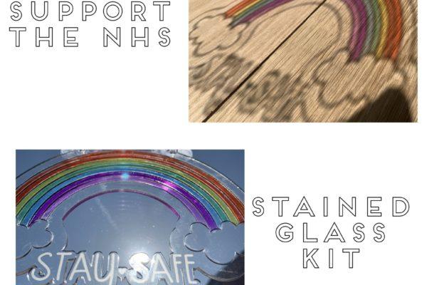 Jajo rainbow stained glass kit jumbo RSGK20