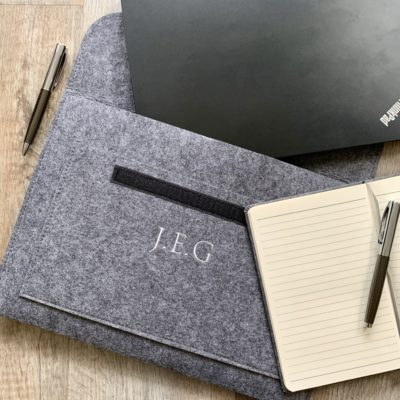 Jajo monogram laptop wallet