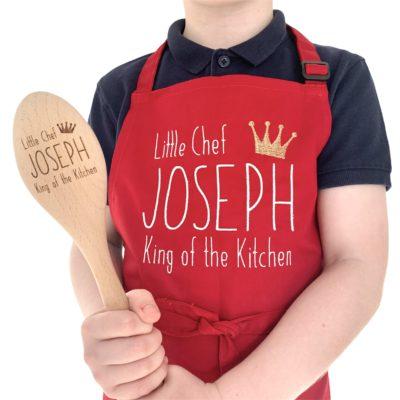 Jajo King of the Kitchen Apron