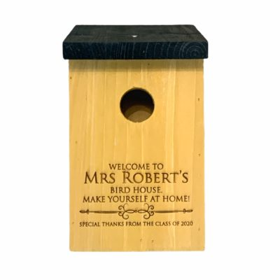 Jajo UK Personalised Bird Box