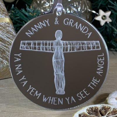 Angel of the North Bauble jajo uk